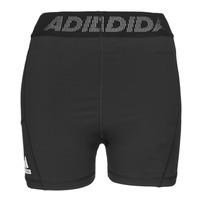 Kleidung Damen Shorts / Bermudas adidas Performance TF SHRT 3 BAR T Schwarz