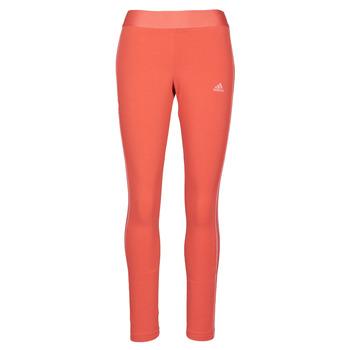 Kleidung Damen Leggings adidas Performance W 3S LEG Rot