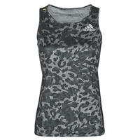 Kleidung Damen Tops adidas Performance P.BLUE TANK Grau