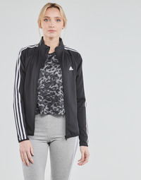 Kleidung Damen Trainingsjacken adidas Performance W 3S TJ Schwarz
