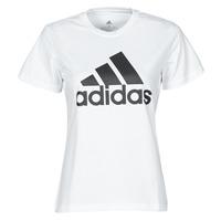 Kleidung Damen T-Shirts adidas Performance W BL T Weiss