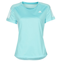 Kleidung Damen T-Shirts adidas Performance OWN THE RUN TEE Blau