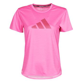 Kleidung Damen T-Shirts adidas Performance BOS LOGO TEE Rose