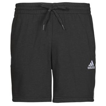 Kleidung Herren Shorts / Bermudas adidas Performance M 3S FT SHO Schwarz
