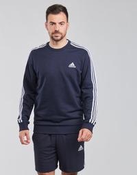 Kleidung Herren Sweatshirts adidas Performance M 3S FT SWT Blau