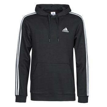 Kleidung Herren Sweatshirts adidas Performance M 3S FL HD Schwarz