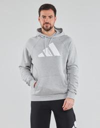 Kleidung Herren Sweatshirts adidas Performance M FI Hood Grau