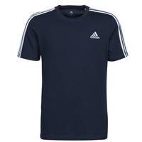 Kleidung Herren T-Shirts adidas Performance M 3S SJ T Blau