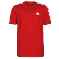 Kleidung Herren T-Shirts adidas Performance M 3S SJ T Rot