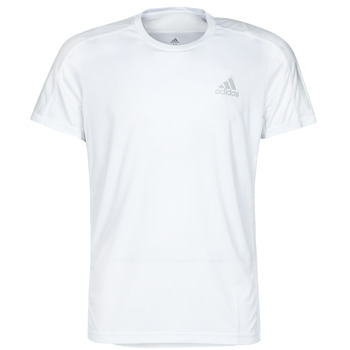 Kleidung Herren T-Shirts adidas Performance OWN THE RUN TEE Weiss