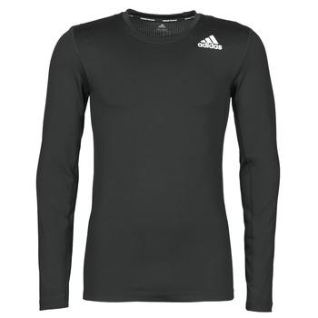 Kleidung Herren Langarmshirts adidas Performance TF LS Schwarz