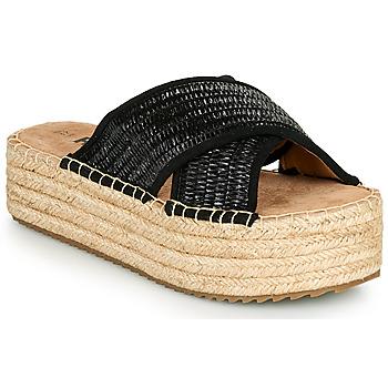 Schuhe Damen Pantoffel Refresh TERRA Schwarz