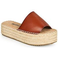 Schuhe Damen Pantoffel Refresh ETINNA Camel