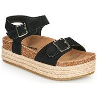 Schuhe Damen Sandalen / Sandaletten Refresh KINNA Schwarz