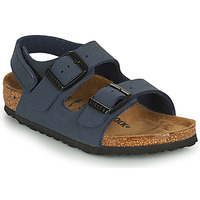 Schuhe Jungen Sandalen / Sandaletten Birkenstock MILANO HL Blau