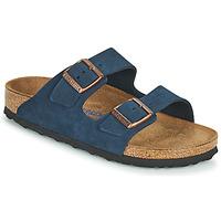 Schuhe Damen Pantoffel Birkenstock ARIZONA SFB Blau
