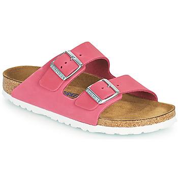 Schuhe Damen Pantoffel Birkenstock ARIZONA SFB Rose