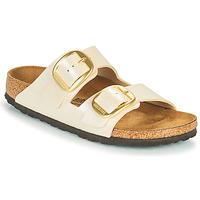 Schuhe Damen Pantoffel Birkenstock ARIZONA BIG BUCKLE Weiss