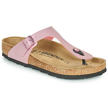 Schuhe Damen Zehensandalen Birkenstock GIZEH Rose