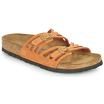 Schuhe Damen Pantoffel Birkenstock GRANADA SFB Orange