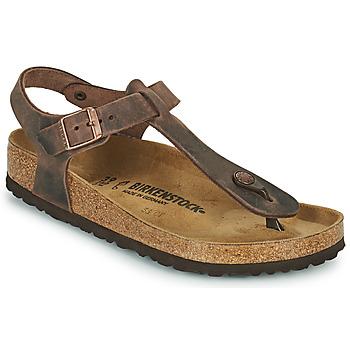Schuhe Damen Zehensandalen Birkenstock KAIRO Braun