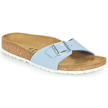 Schuhe Damen Pantoffel Birkenstock MADRID Blau