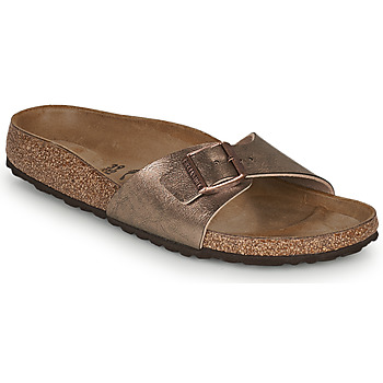 Schuhe Damen Pantoffel Birkenstock MADRID Gold