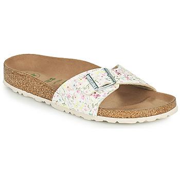 Schuhe Damen Pantoffel Birkenstock MADRID Weiss