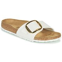 Schuhe Damen Pantoffel Birkenstock MADRID BIG BUCKLE Weiss