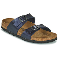 Schuhe Damen Pantoffel Birkenstock SYDNEY Blau