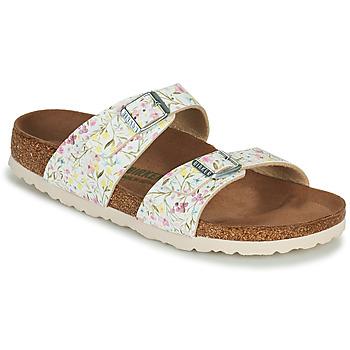 Schuhe Damen Pantoffel Birkenstock SYDNEY Weiss