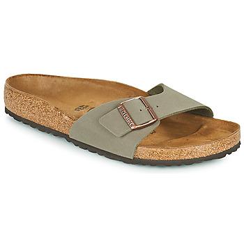 Schuhe Herren Pantoffel Birkenstock MADRID Grau