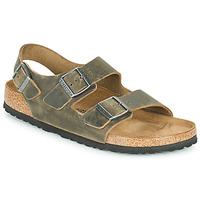 Schuhe Herren Sandalen / Sandaletten Birkenstock MILANO Kaki