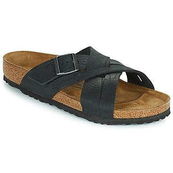 Schuhe Herren Pantoffel Birkenstock LUGANO Schwarz