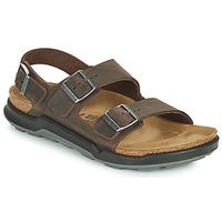 Schuhe Herren Sandalen / Sandaletten Birkenstock MILANO CT Braun