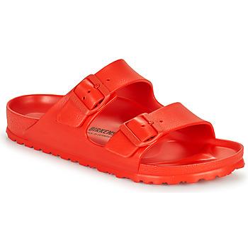 Schuhe Damen Pantoffel Birkenstock ARIZONA EVA Rot