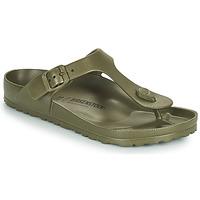 Schuhe Damen Zehensandalen Birkenstock GIZEH EVA Kaki