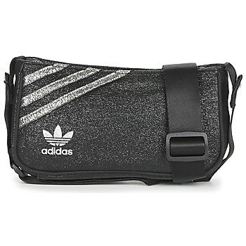 Taschen Damen Umhängetaschen adidas Originals MINI AIRLINER Schwarz