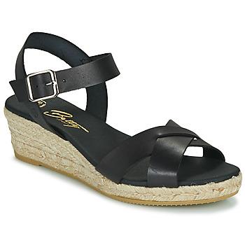 Schuhe Damen Sandalen / Sandaletten Betty London GIORGIA Schwarz