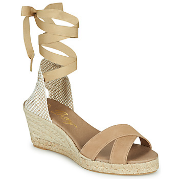 Schuhe Damen Sandalen / Sandaletten Betty London IDILE Beige