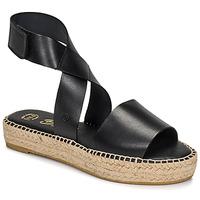 Schuhe Damen Sandalen / Sandaletten Betty London EBALUIE Schwarz