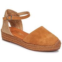 Schuhe Damen Sandalen / Sandaletten Betty London ANTALA Cognac