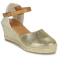 Schuhe Damen Sandalen / Sandaletten Betty London CASSIA Gold
