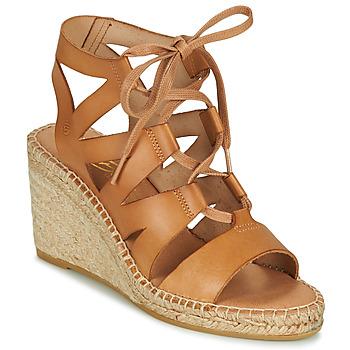Schuhe Damen Sandalen / Sandaletten Betty London OTANA Camel