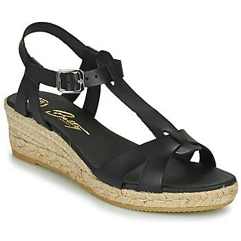 Schuhe Damen Sandalen / Sandaletten Betty London OBORSEL Schwarz