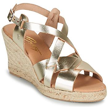 Schuhe Damen Sandalen / Sandaletten Betty London OSAVER Gold