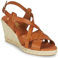 Schuhe Damen Sandalen / Sandaletten Betty London OSAVER Camel
