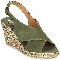 Schuhe Damen Sandalen / Sandaletten Betty London OHINDRA Kaki