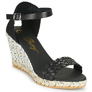 Schuhe Damen Sandalen / Sandaletten Betty London OBRENNA Cognac