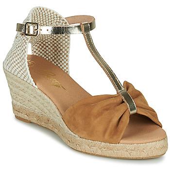 Schuhe Damen Sandalen / Sandaletten Betty London OREINOA Camel